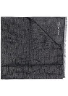 Armani two tone scarf