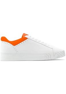 Armani two-tone sneakers