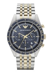 Armani Two-Toned Stainless Steel Chronogrpah Watch