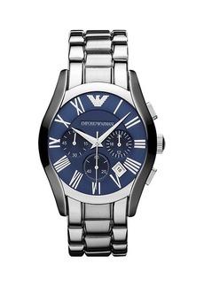 Armani Valente Stainless Steel Bracelet Chronograph Watch