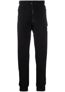 Armani vector logo track pants