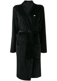 Armani velour robe
