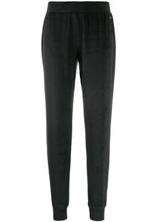 Armani velour track pants