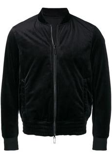 Armani velvet bomber jacket