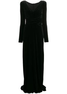 Armani velvet dress