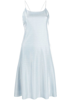 Armani velvet-effect mini dress