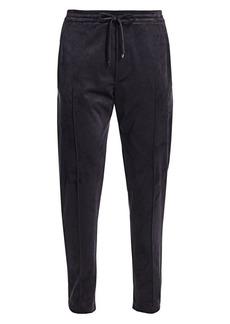 Armani Velvet Jogging Trousers