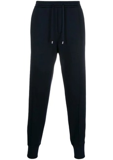 Armani velvet pocket track pants