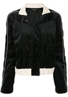 Armani velvet tracksuit jacket