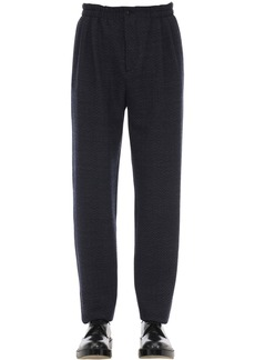 Armani Virgin Wool Jogging Pants