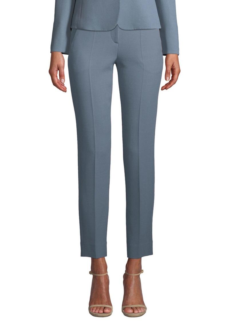 Armani Waffle-Wave Knit Trousers