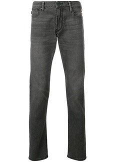 Armani washed slim jeans