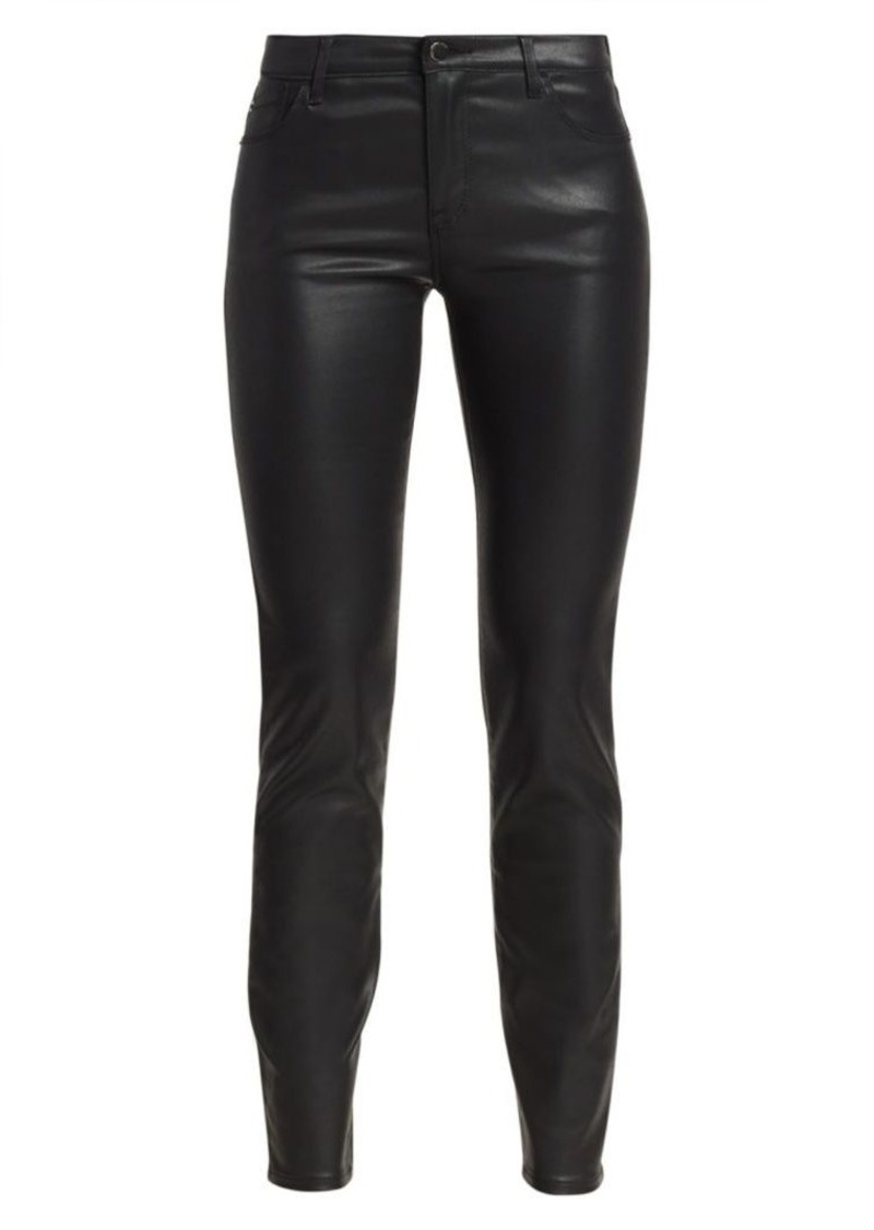 Armani Wax Coated Five-Pocket Jeans