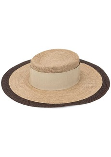 Armani wide brim sun hat