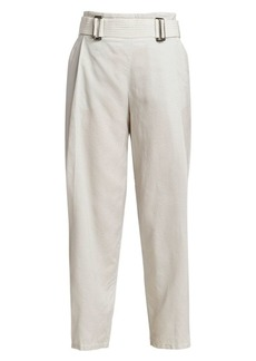 Armani Wide-Leg Crop Trousers