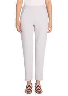 Armani Wide-Leg Straight-Leg Slim Pocket Ankle Pants