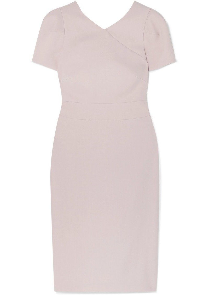 Armani Wool-crepe Dress