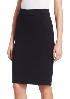 Armani Wool Pencil Skirt