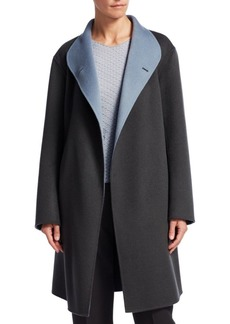 Armani Wool Wrap Coat