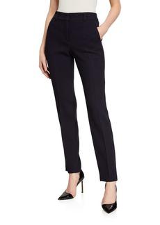 Armani Zen Waffle-Knit Wool Trousers