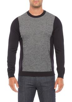 Armani Zigzag Block Sweater