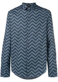 Armani zigzag print shirt