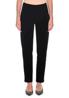 Armani Zip-Front Skinny Pants