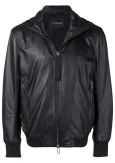 Armani zipped bomber jacket