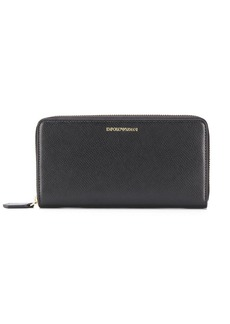 Armani zipped continental wallet