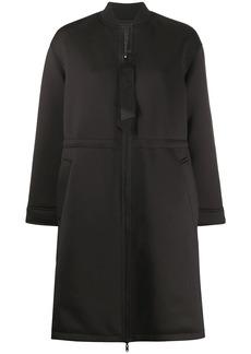 Armani zipped midi coat