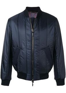 Armani zipped padded jacket