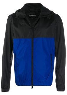 Armani zipped-up jacket