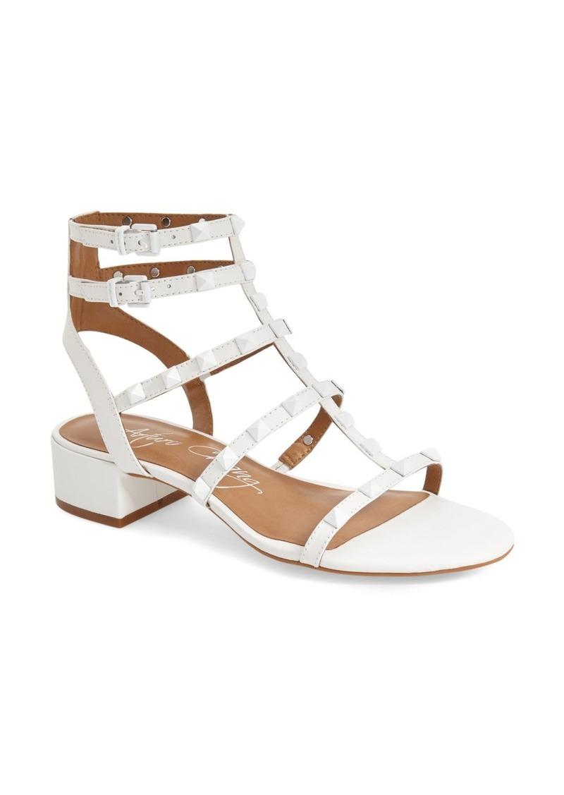 e751c861164c Arturo Chiang Arturo Chiang  Jain  Studded Patent Gladiator Sandal ...