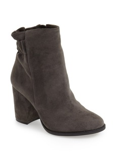 Arturo Chiang 'Rakel' Gathered Heel Zip Bootie (Women)