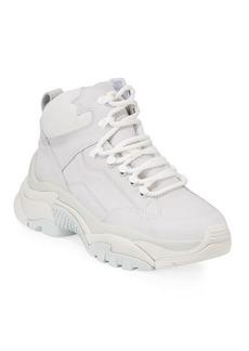 Ash Alfa High-Top Sneakers with Chunky Heel