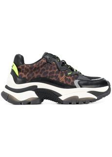 Ash animal print sneakers
