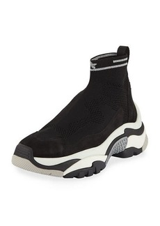 Ash Addict Stretch Sock Sneakers
