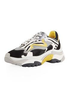 Ash Addict Zebra Mixed Colorblock Sneakers