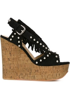 Ash 'Blossom baby' wedges - Black