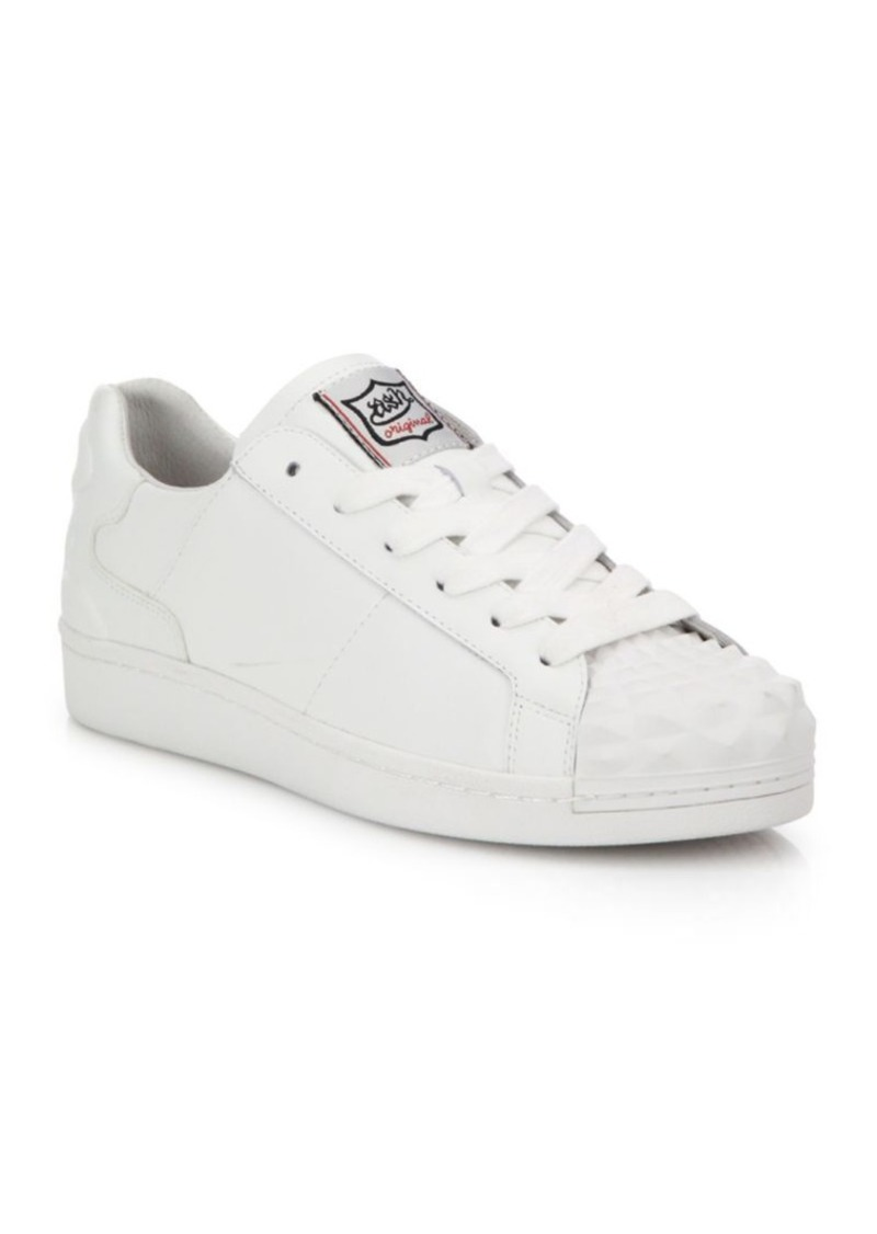 Ash Crack Leather Sneakers
