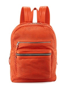 Ash Danica Large Perforated Leather Backpack