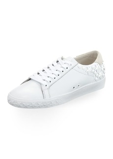 Ash Dazed Calf Sneakers with Star Studs