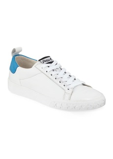 Ash Dazed Leather Lace-Up Sneakers