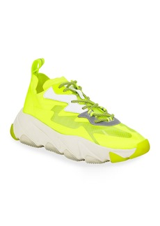 Ash Eclipse Neon Lace-Up Sneakers