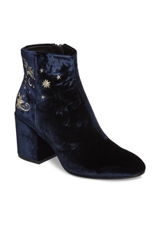 Ash Elixir Embroidered Velvet Bootie (Women)