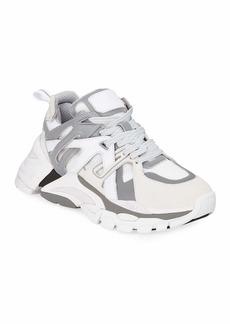Ash Flash Mixed-Media Running Sneakers