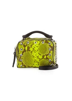 Ash Frankie Studded Leather Crossbody Bag