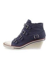 Ash Genialbis Buckled Wedge Sneaker