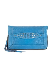 Ash Jax Studded-Leather Clutch