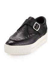 Ash Kony Bis Lizard-Embossed Platform Sneaker